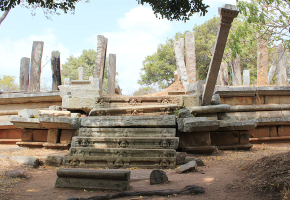 The Ancient city of Anuradhapura, Sri Lanka