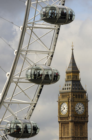 TOP 10: Amazing photographs of the London Eye