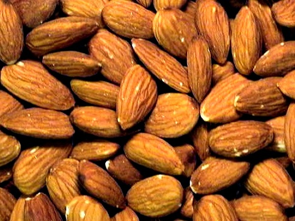 Nutrient rich Almonds for healthy weight loss