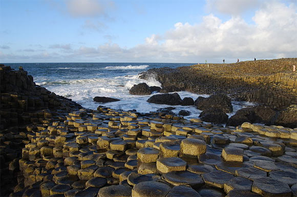 Giant's Causeway, Northern Ireland. Hexagonal basalts.