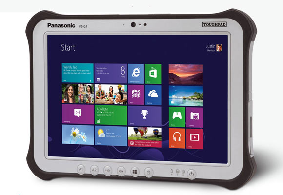 Panasonic's FZ-G1 Toughpad