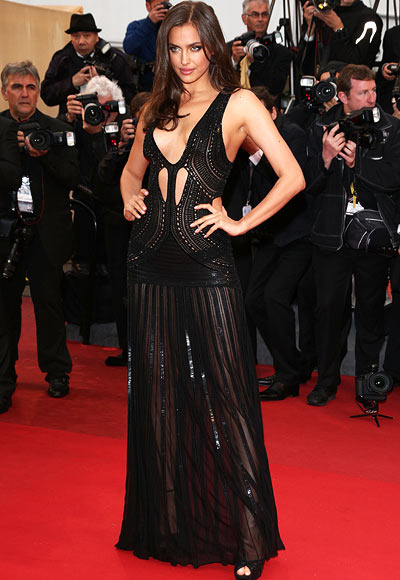 Irina Shayk attends the 'All Is Lost' Premiere during the 66th Annual Cannes Film Festival at Palais des Festivals on May 22, 2013 in Cannes, France