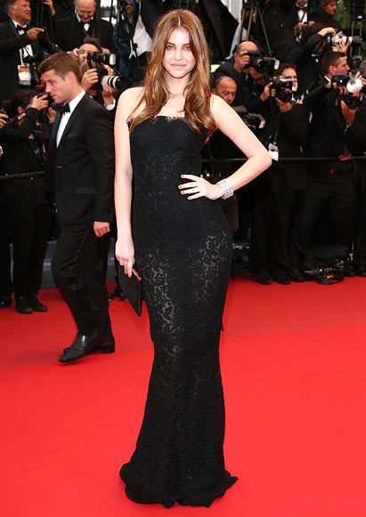 Barbara Palvin attends the 'All Is Lost' Premiere during the 66th Annual Cannes Film Festival at Palais des Festivals on May 22, 2013 in Cannes, France