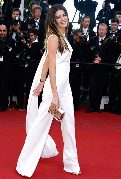 Model Isabeli Fontana attends the 'The Immigrant' premiere during The 66th Annual Cannes Film Festival at the Palais des Festivals on May 24, 2013 in Cannes, France