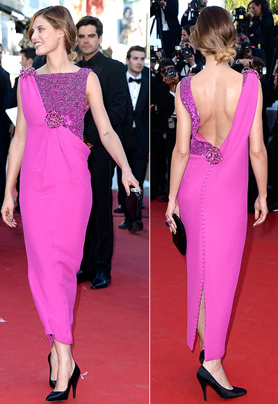 Bianca Balti attends the 'The Immigrant' premiere during The 66th Annual Cannes Film Festival at the Palais des Festivals on May 24, 2013 in Cannes, France