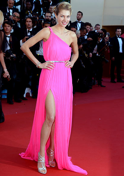 Jessica Hart attends the 'Behind The Candelabra' premiere during The 66th Annual Cannes Film Festival at Theatre Lumiere on May 21, 2013 in Cannes, France