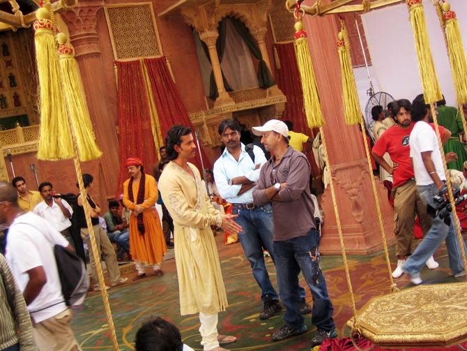 On the sets of Jodhaa Akbar