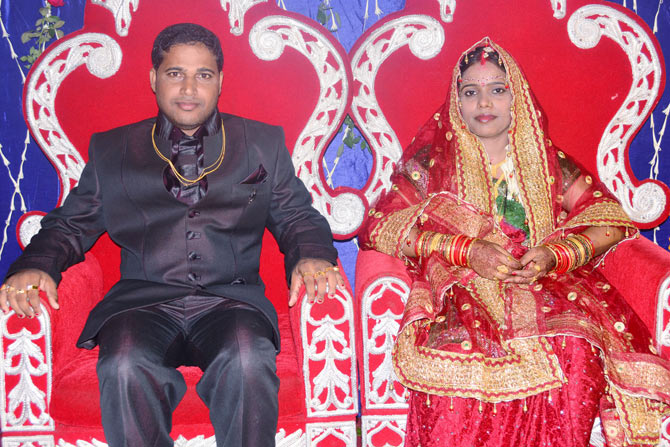 Bhaskar Ojha and his wife Banasmita Ojha