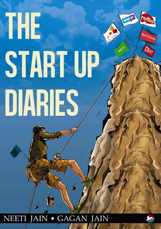 Book cover of The Start Up Diaries