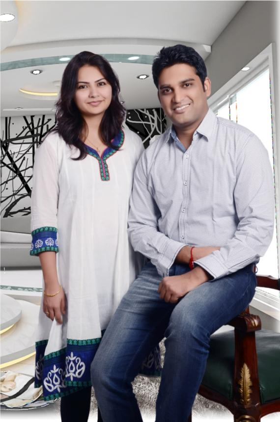 Author Neeti Jain and Gagan Jain
