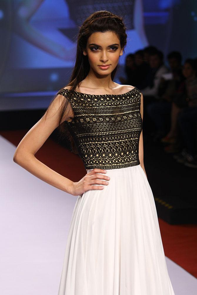 Diana Penty for Drashta Sarvaiya