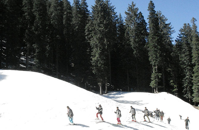 Solang slopes: For beginners and intermediate-level skiing