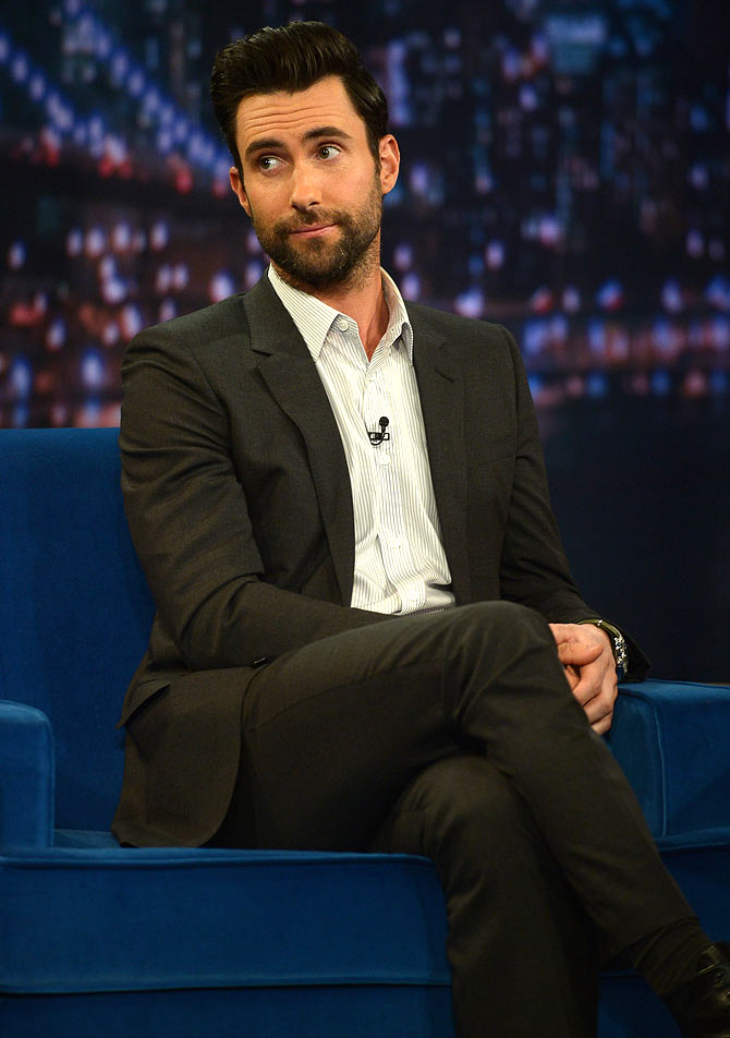 Adam Levine is the sexiest man alive. And he doesn't seem too surprised!