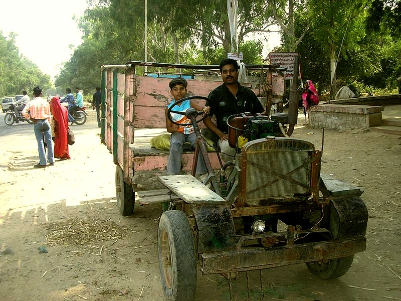 Jugaad remains one of the most popular and inexpensive modes of transport in large parts of northern India.