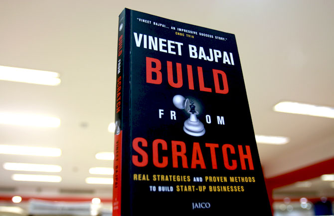Book cover of Vineet Bajpai's Build From Scratch