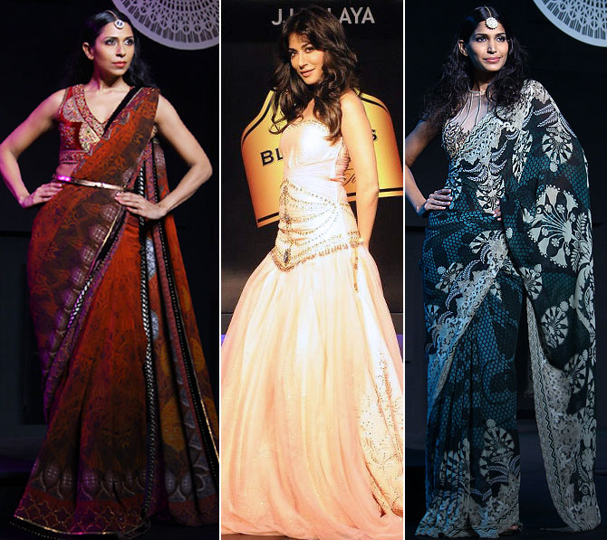 In concept, cuts and detailing, Maharaja of Madrid was the quintessential JJ Valaya.