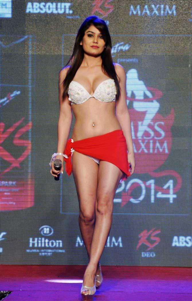 In pics: Bikini models set the runway on fire