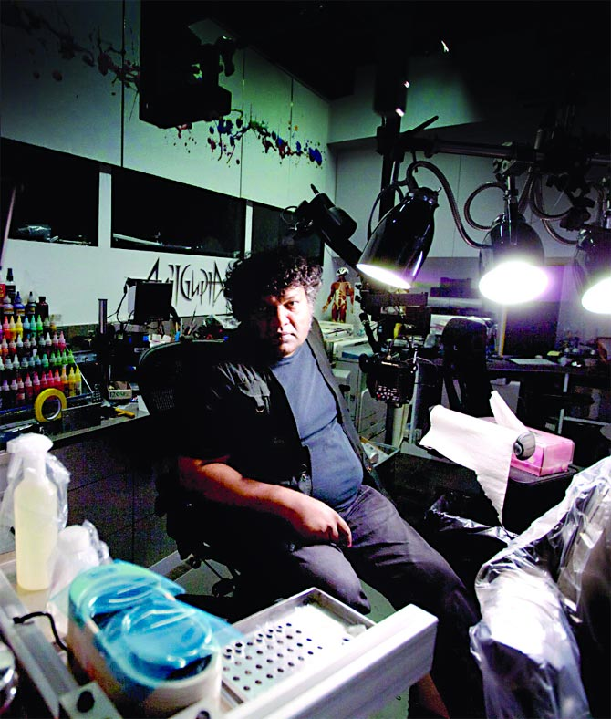 Why Anil Gupta is New York's top tattoo artist!