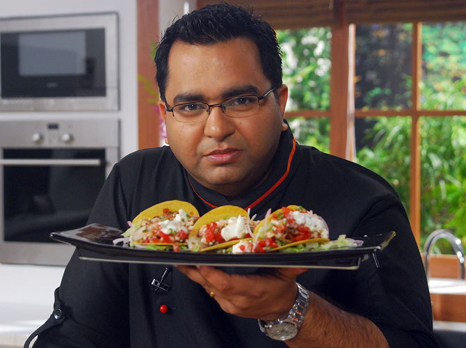Chef Ajay Chopra tosses up a mean feast on FoodFood Channel's show Hi Tea