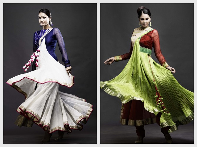 Opt for something light and simple and keep it clean, yet traditional, says Vaishali Shadangule.