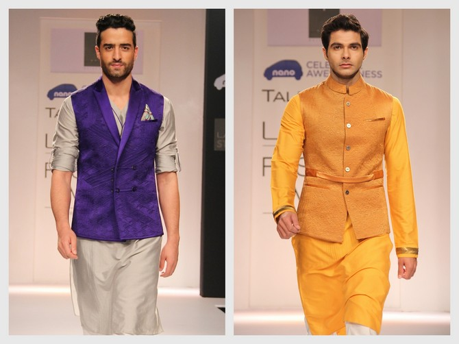 Embrace the waist jacket and try out bright colours, says Rajat Suri.