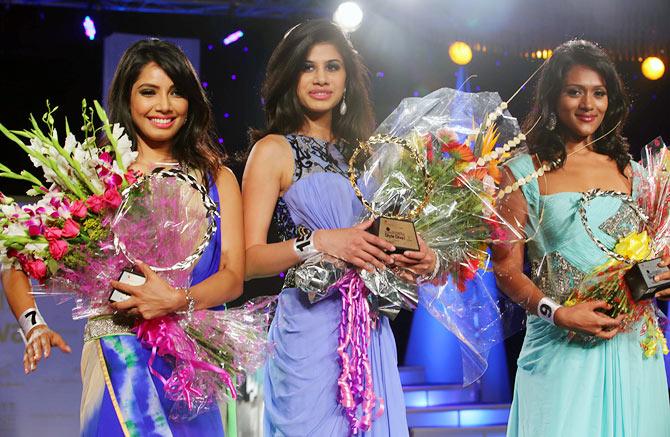Muskaan Sodhi, Steffi Natalya and Malvika Sitlan