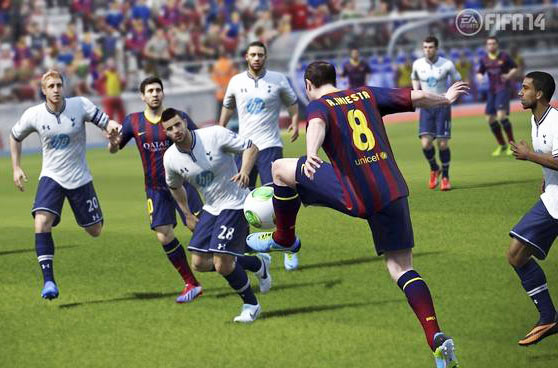 FIFA 14: A fun game of competitive football