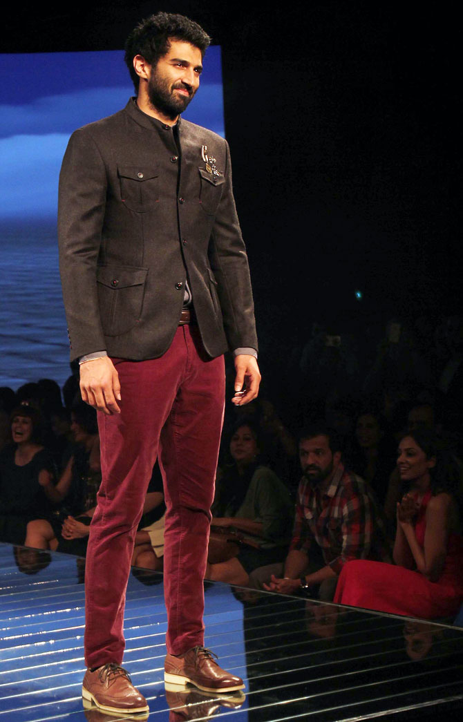 Slowly but surely, the safari jacket has been making an unlikely comeback on the Indian runways. Aditya Roy Kapur models a stylish variation of the pre-Liberalisation relic.