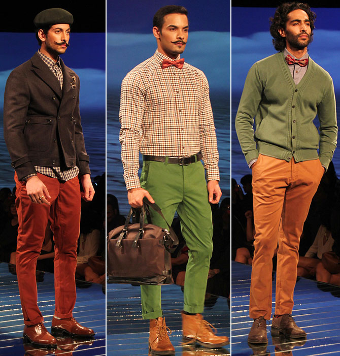 Add a dash of colour to your wardrobe, go forth, try on those coloured trousers