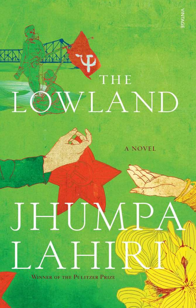 Jhumpa Lahiri's new book The Lowland has been shortlisted for the Man Booker prize
