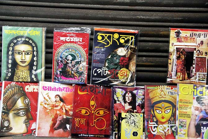 To the beat of the dhaak, Kolkata set to welcome goddess Durga