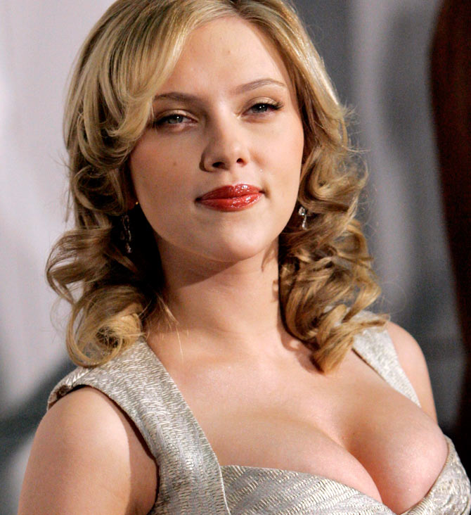 For luscious lips like Scarlett Johansson, moisturise them regularly using a good lip balm.
