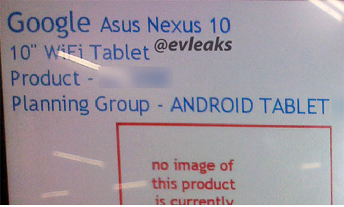 The NEW Nexus 10: Will Google ditch Samsung for Asus?