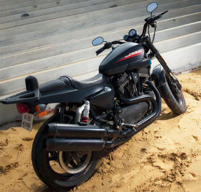 PHOTOS: From Bikaner to Jaisalmer on Harley XR1200X