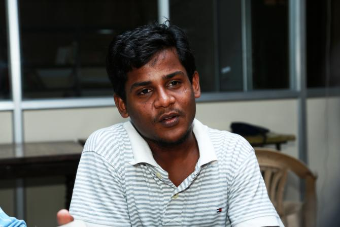 H Akbar Ali is the first to attend college in his family. He has cleared the Tamil Nadu Public Service Commission Exam