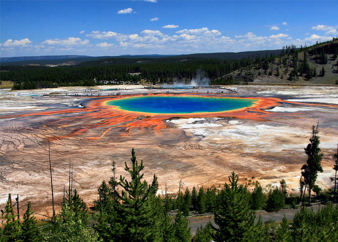 The Grand Prismatic Spring, USA