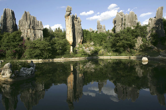 Shilin Stone Forest, China