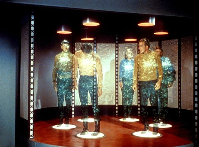 The star Trek Teleportation device