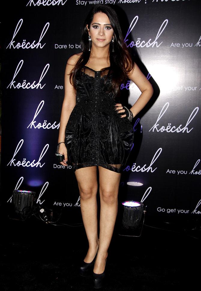 Kresha Baja at the launch of Koesch