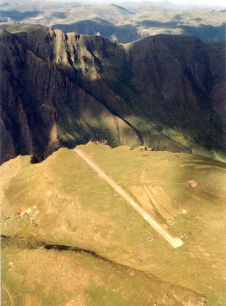 10. Matekane Air Strip, Lesotho