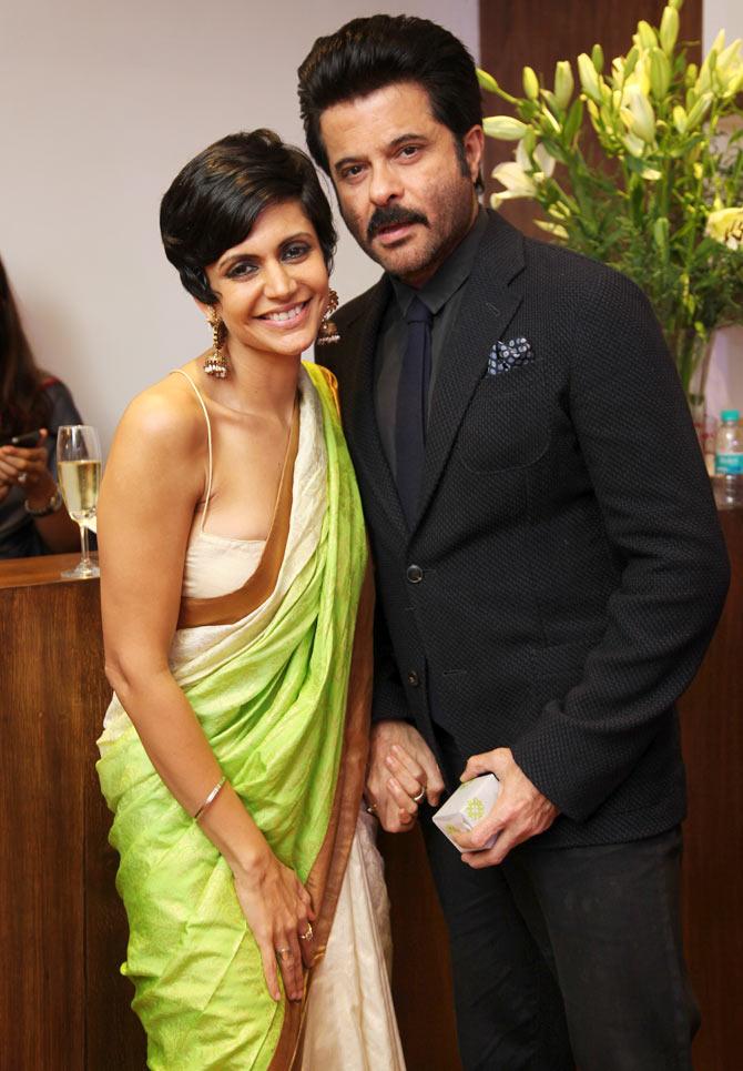 Mandira Bedi with Anil Kapoor