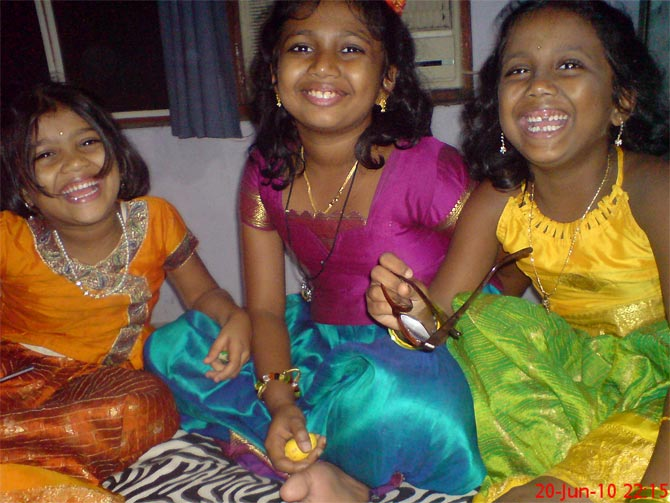 Jayalaksmi's daughters are excited about celebrating Diwali