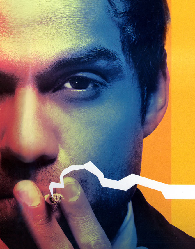 Abhay Deol in a poster of Dev D