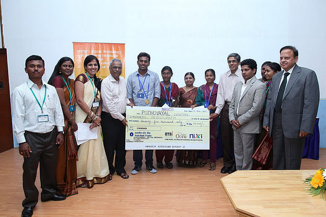 RTBI representatives at the launch of Namma Ooru Website (NOW) initiative