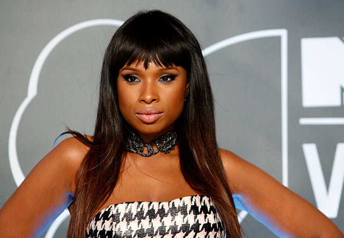 Jennifer Hudson at the MTV Video music awards