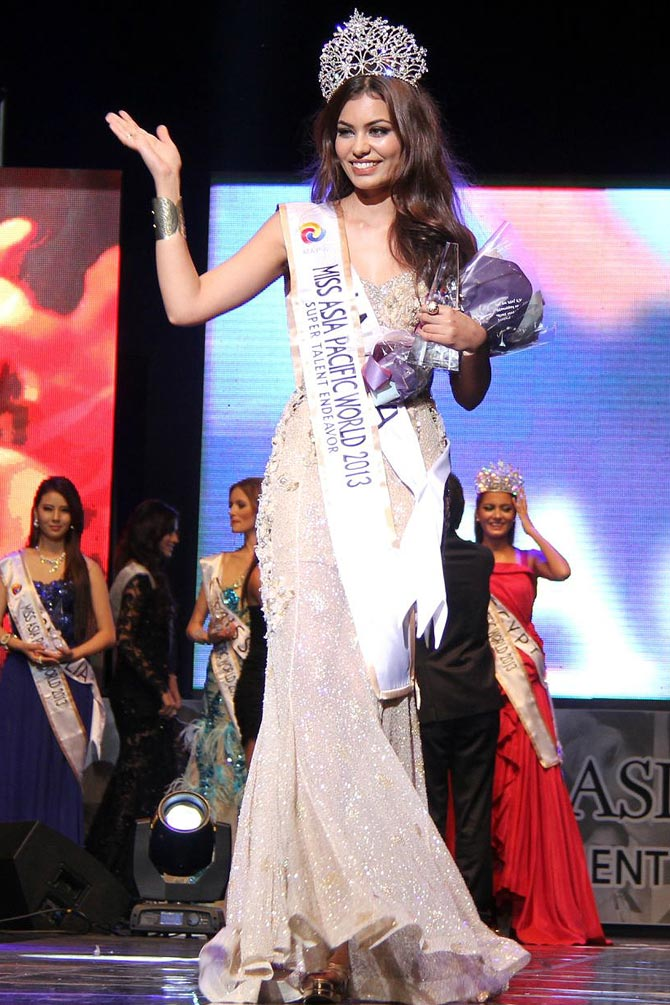 Srishti Rana became the fifth Indian to win the Miss Asia Pacific crown