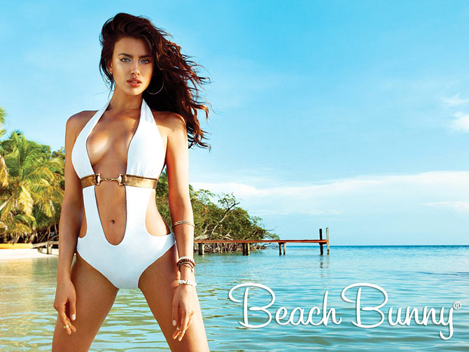 Irina Shayk for Beach Bunny Swimwear