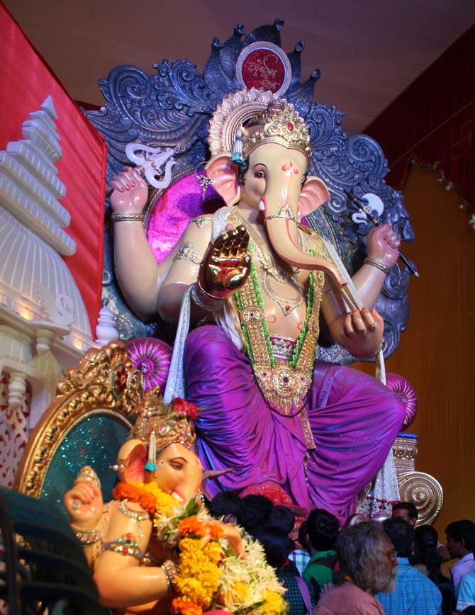 Ganesh Galli Mandal at Lalbaug