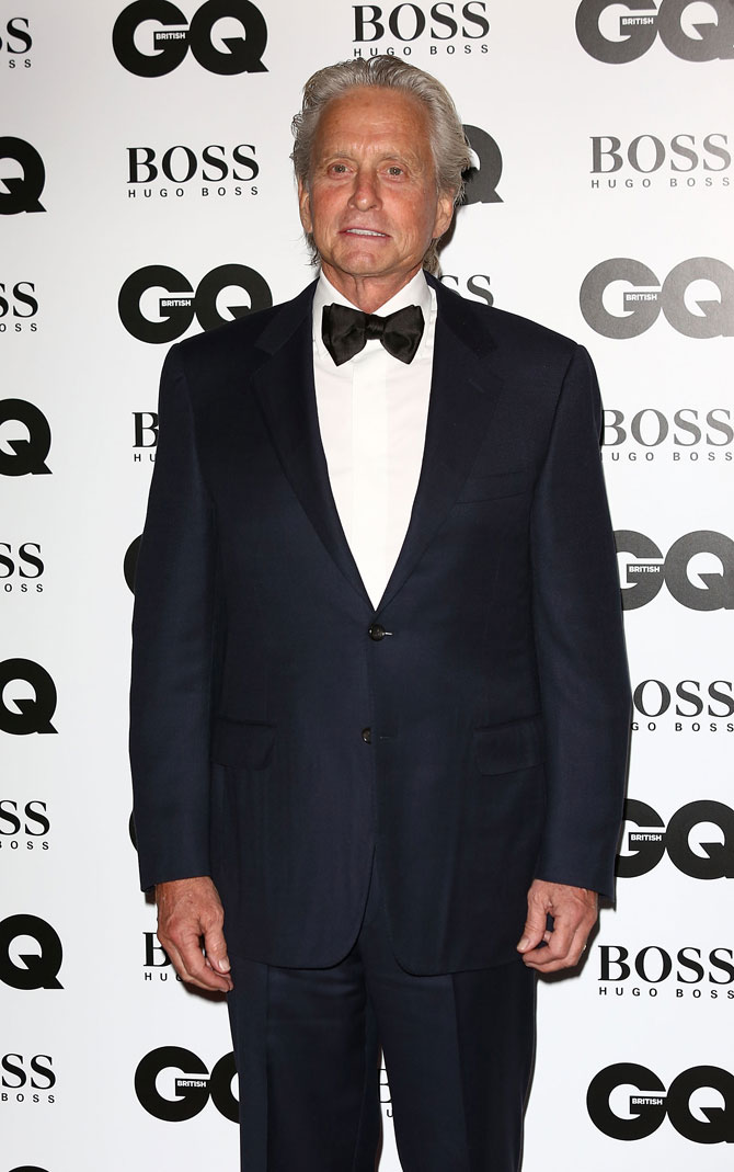 Michael Douglas named 'legend' at GQ Men of the Year Awards