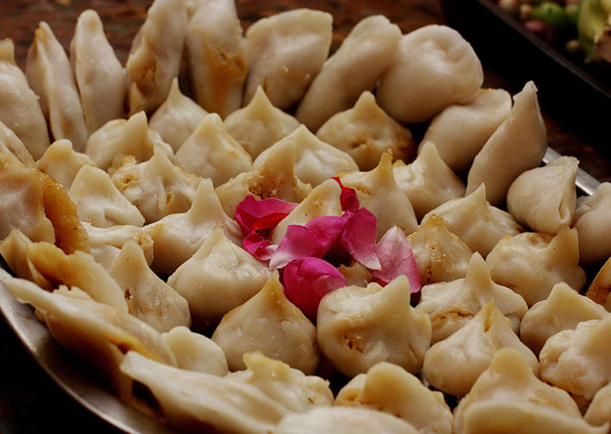 Easy recipe to make modak